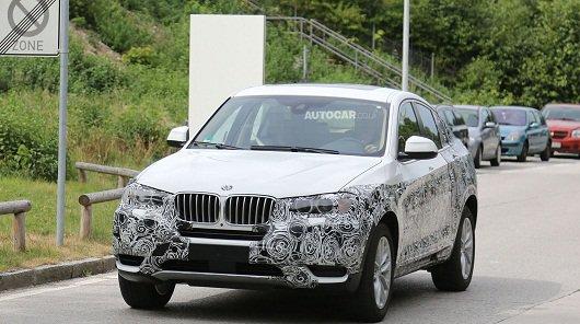 2014 BMW X4 - серийная версия в комуфляже