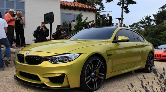 2015 BMW Concept Coupe M4 (F32) фото