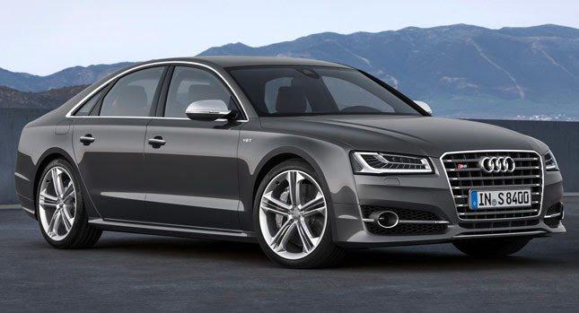 Audi представила первые официальные фотографии новых автомобилей A8 и S8 | 70 фотографий и видео