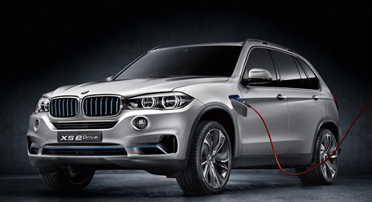 Гибридная 2015 BMW X5 eDrive (F15) будет показана во Франкфурте фото
