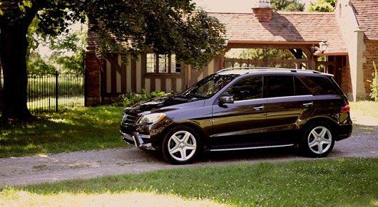 2013 Mercedes ML550 4MATIC: Полный обзор