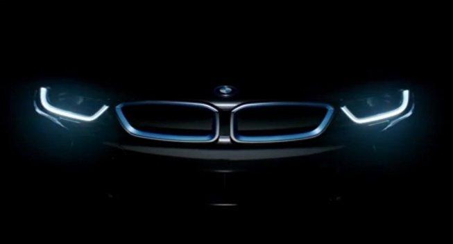 BMW приоткрыло i8 перед премьерой во Фракфурте
