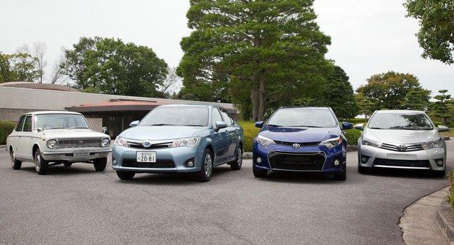 Toyota продала 40 млн. автомобилей Corolla