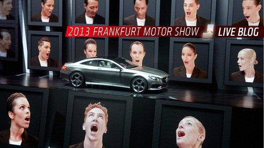 Фото отчет первого дня на автосалоне во Франкфурте 2013