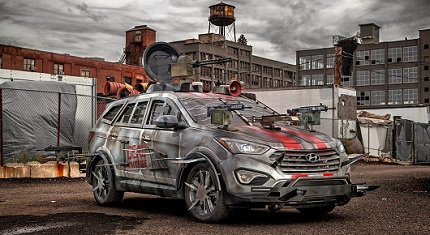 Hyundai Santa Fe Zombie Survival Machine фото