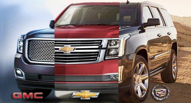 Сравнение: Cadillac Escalade, GMC Yukon и Chevrolet Tahoe