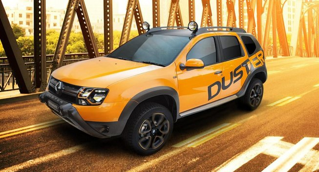 �������-��� Renault Duster | ������ ����������� ���������� ����