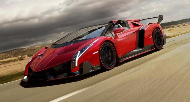 Lamborghini представила родстер Veneno