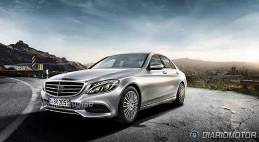 2015 Mercedes-Benz C-Class - Внешность раскрыта