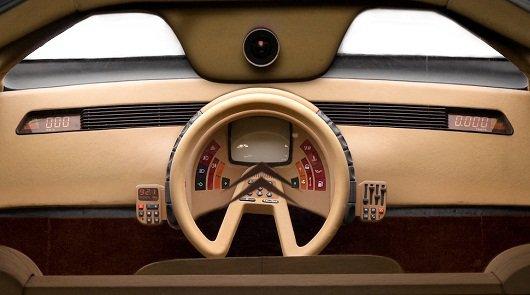 Необычные панели приборов автомобилей, с космическим дизайном