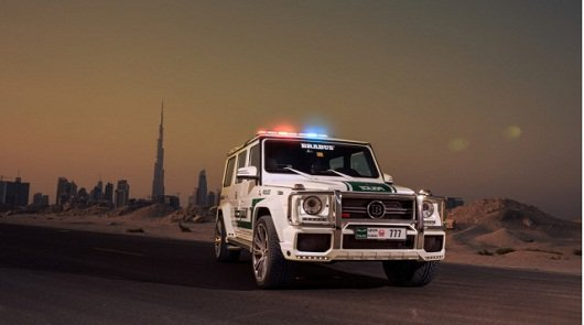 Brabus Mercedes-Benz G63 AMG на службе полиции Дубая