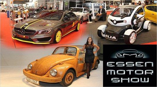 Лучшие тюнинг автомобили 2013-2014 года: Автовыставка в Германии