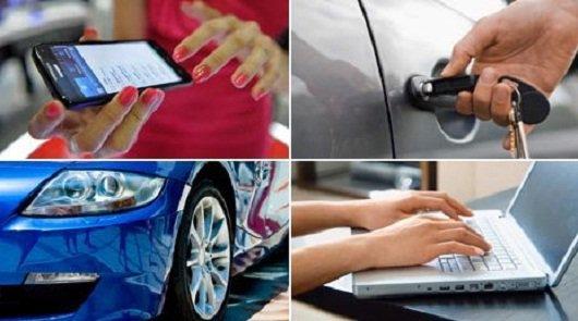 Как открыть автомобиль с помощью мобильного телефона