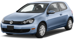 Краш- тест Volkswagen Golf (2010- 2013), боковой удар