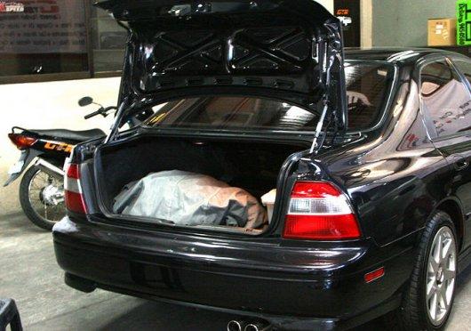 Запах в автомобиле
