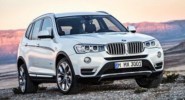 Новый 2015 BMW X3: Новая информация и фотографии