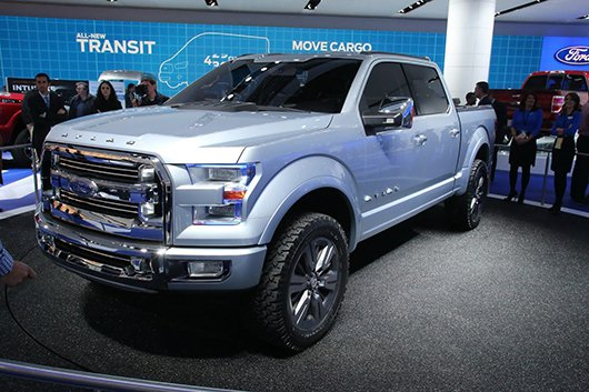 ��������� �������� 2015 Ford F-150 �� ���������� � �������� 2014 ����