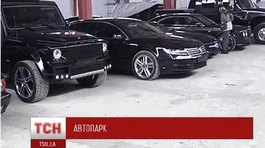 У сына президента Украины Януковича нашли парк автомобилей стоимостью 2млн. долларов