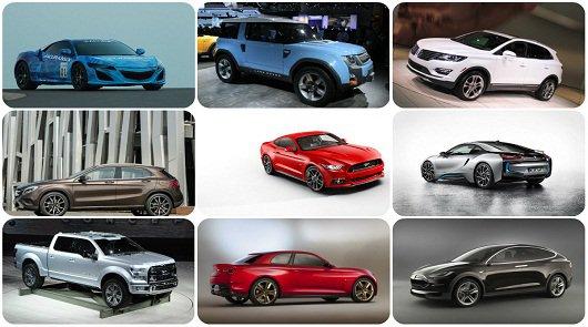 Десять самых ожидаемых автомашин 2015 года