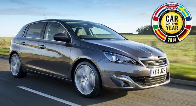 Новый Peugeot 308 стал лучшим Европейским автомобилем 2014 года