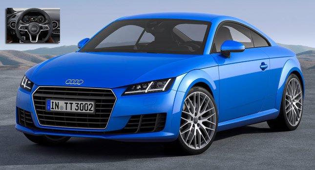 Новая 2015 Audi TT и TTS: Премьера