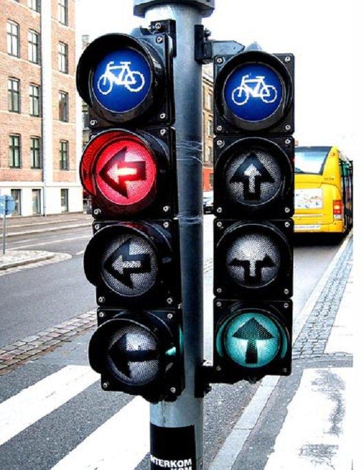 15 удивительных светофоров