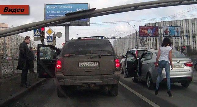 ДТП на дорогах России 2014