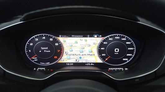 Цифровая панель приборов 2015 Audi TT будет использоваться на других моделях концерна