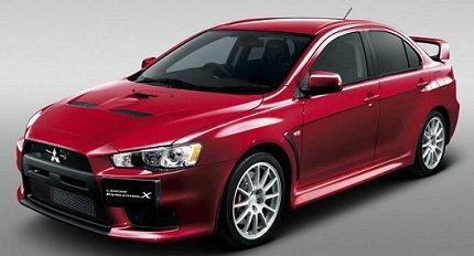 Release Mitsubishi Lancer Evo 10 will be terminated photos