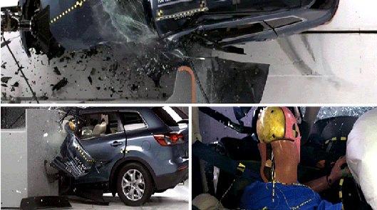 Mazda CX-9 провалила краш-тест IIHS
