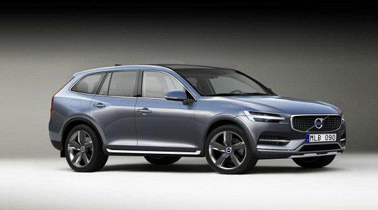 Появились первые фотографии новой Volvo XC90 2015 года.