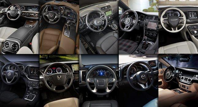 Десять лучших интерьеров автомобилей 2014 года