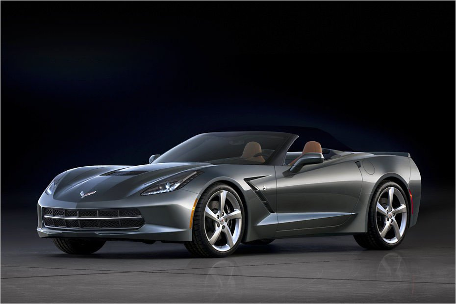 Chevrolet Corvette Convertible - ����� ���������� � �������� ����