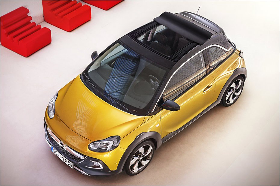 Opel Adam Rocks - ����� ���������� � �������� ����