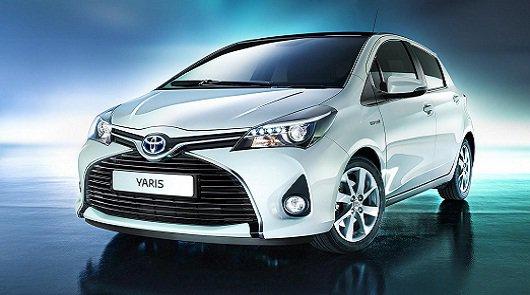 2015 Toyota Yaris: Рейсталинг