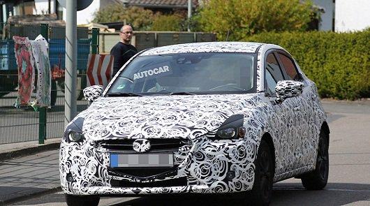 Новая Mazda2 была замечена во время тестирования в Германии