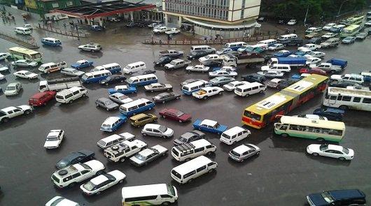 Дорожный хаос в Эфиопии [видео]