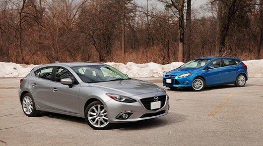 2014 Mazda3 против 2014 Ford Focus