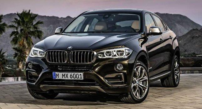 2015 BMW X6: Новые фотографии