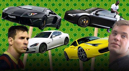 Роналду, Месси, Озил и Ко: Автомобили футбольных звезд