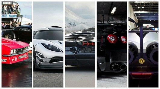 Топ-5 самых мощных автомобилей для уличных гонок