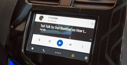 Android Auto Hands-On: ����� ������������� ������� �� Google: �����