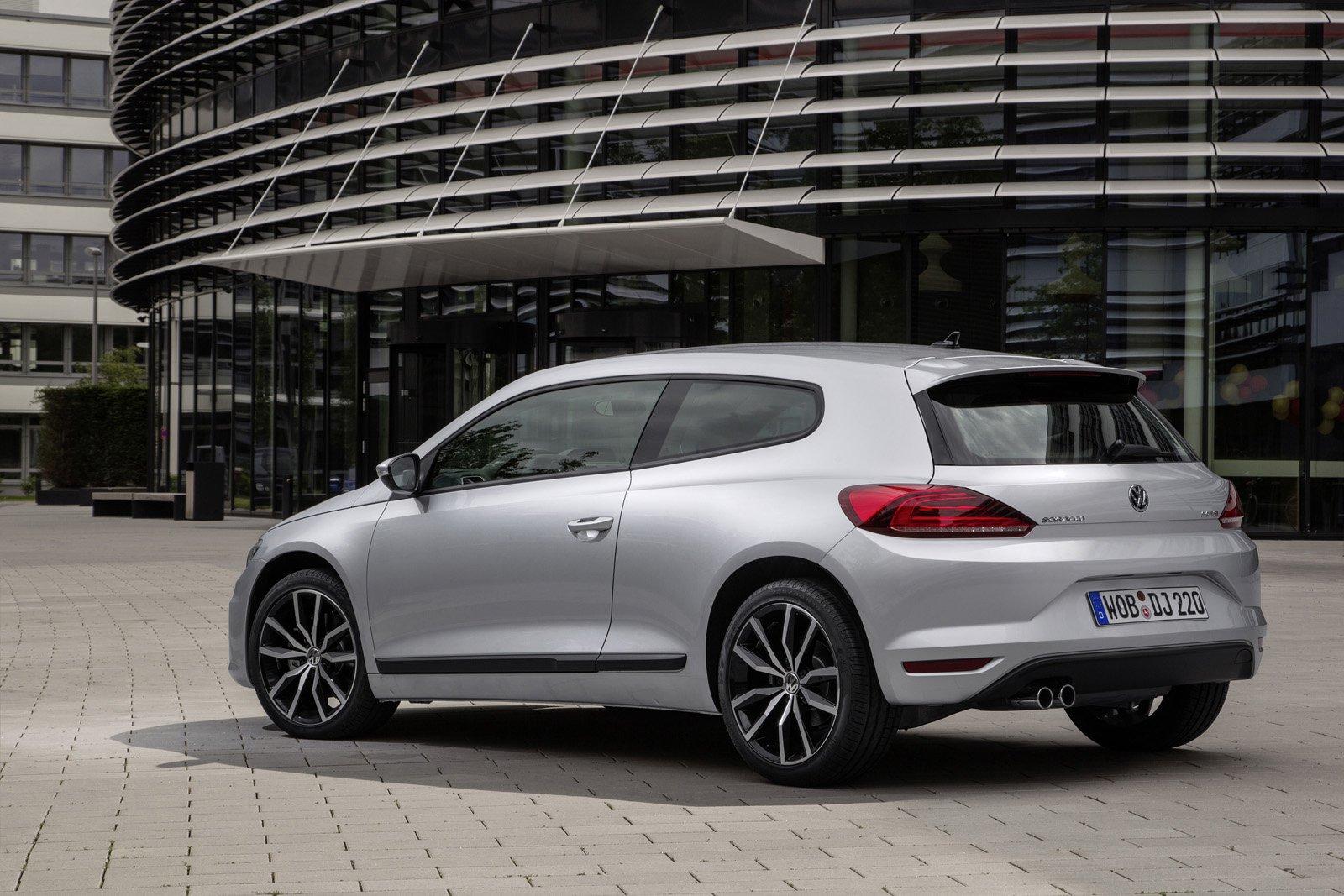 Обновленный VW Scirocco, 50 новых фотографий