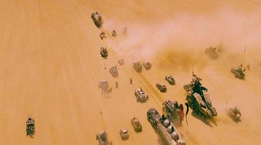Автомобили из нового фильма Безумный Макс