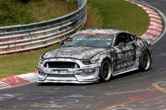 2016 Mustang Shelby GT500, ���������� ��� �����