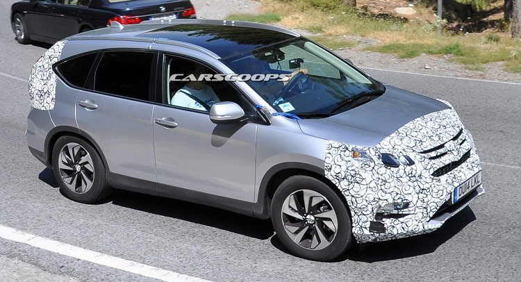 2015 Honda CR-V: Первые фотографии