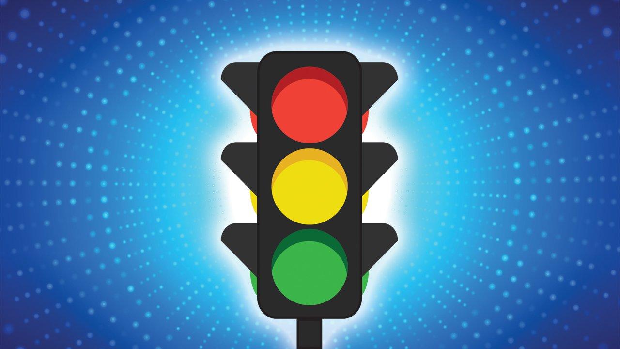 4 цвета светофора