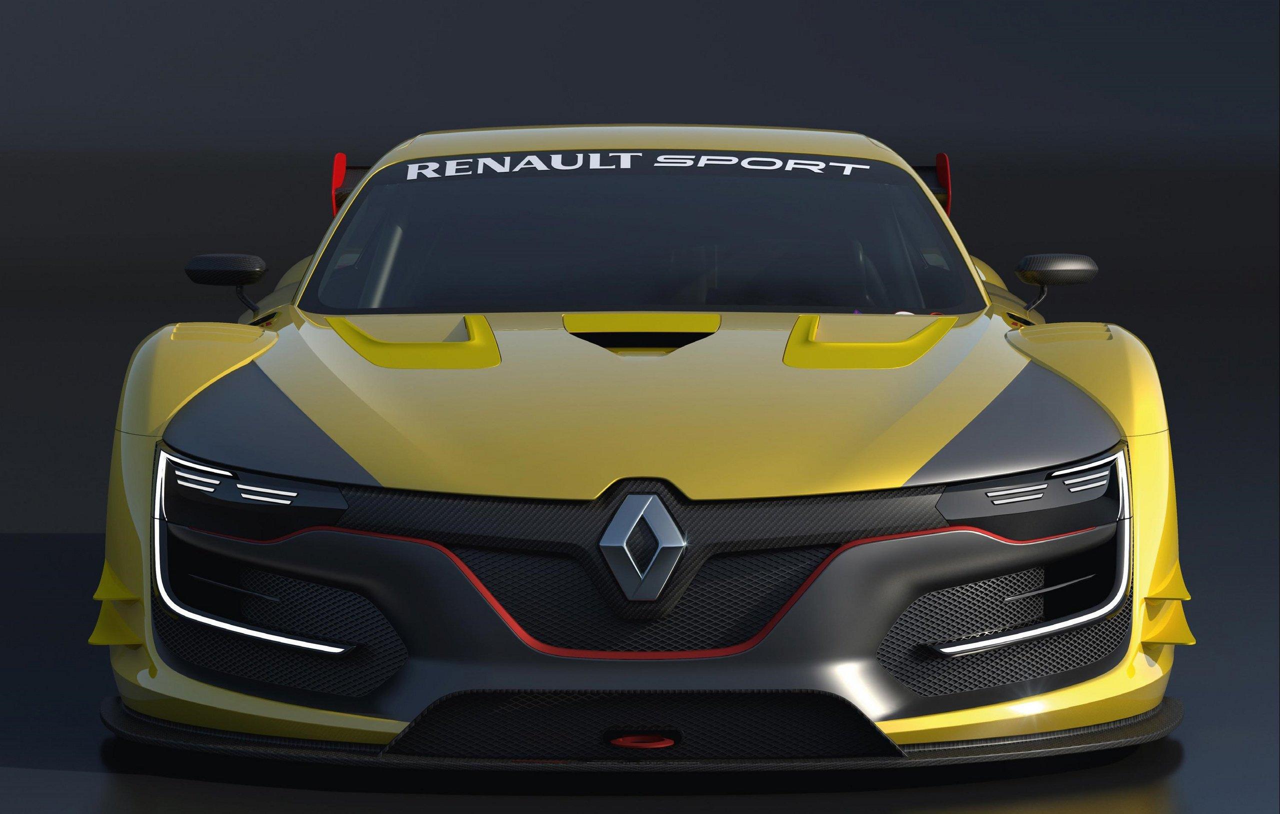 новый рено концепт гоночный 2014
