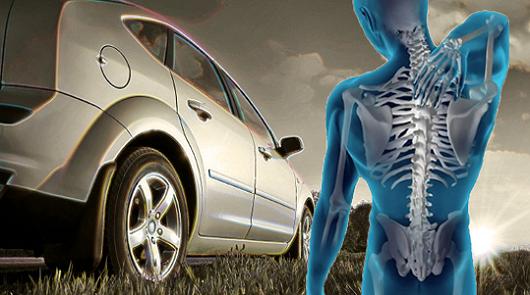 Боль в спине в автомобиле