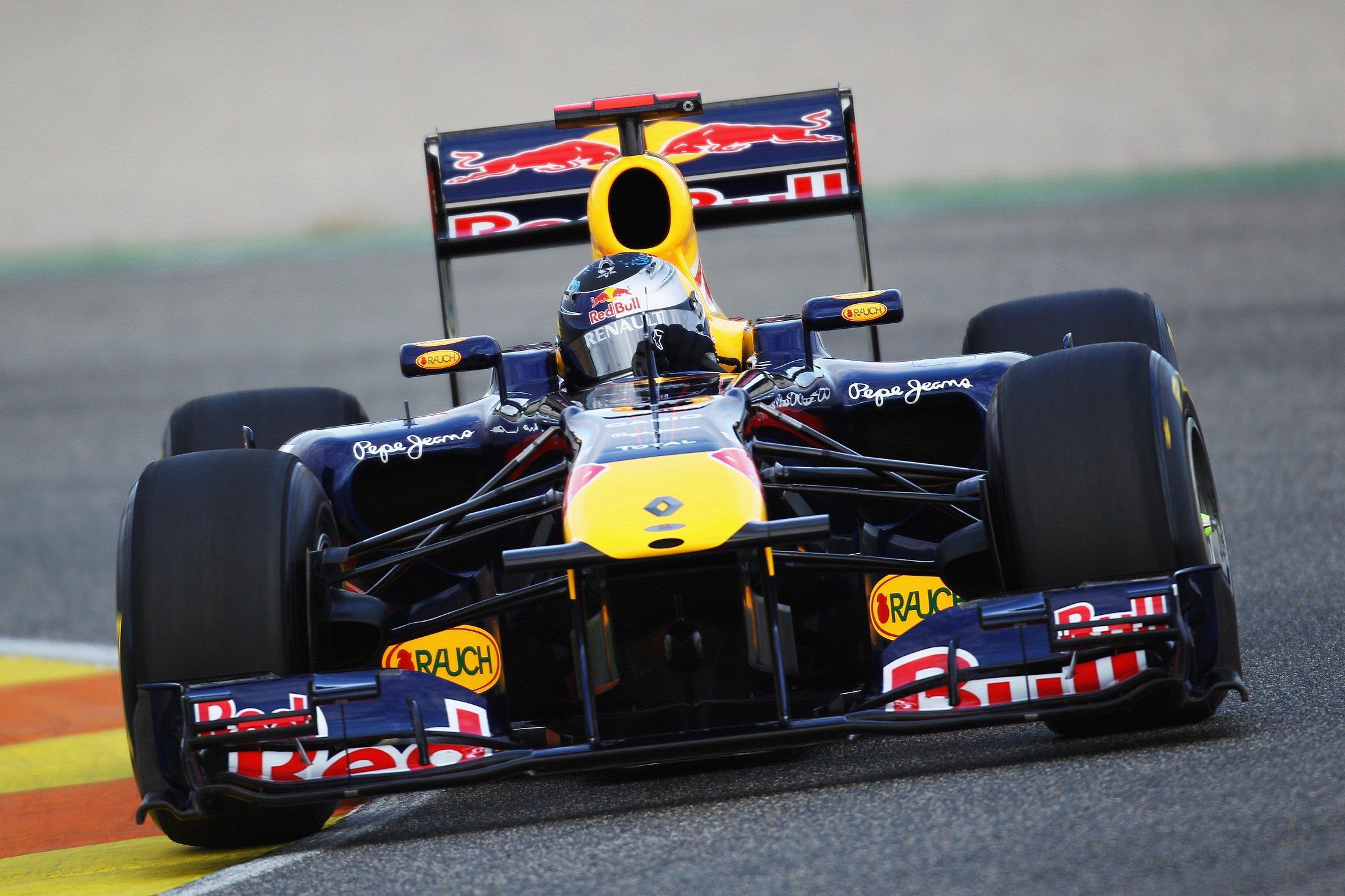 Болид F1 RBR